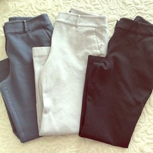 Lot of 3 / Ann Taylor Ankle Pants
